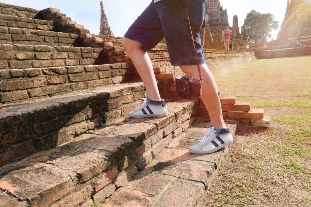 adult adventure ancient architecture