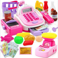Child play cash registry game