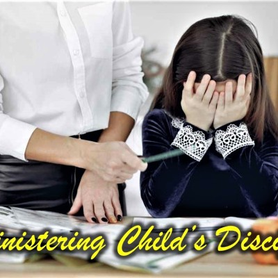 Best ways child's misbehavior can be corrected with love