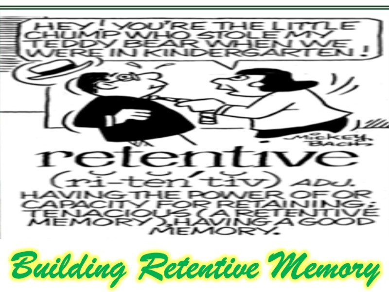 How to build retentive memory in a child