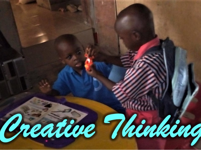 How to develop creative thinking in a child