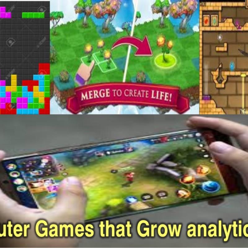 Computer games that help grow children analytic skills?