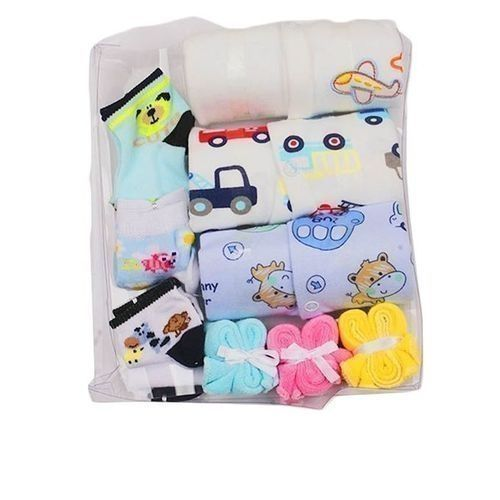 Unisex new born gift pack 10 in 1 body suits Gift Toys